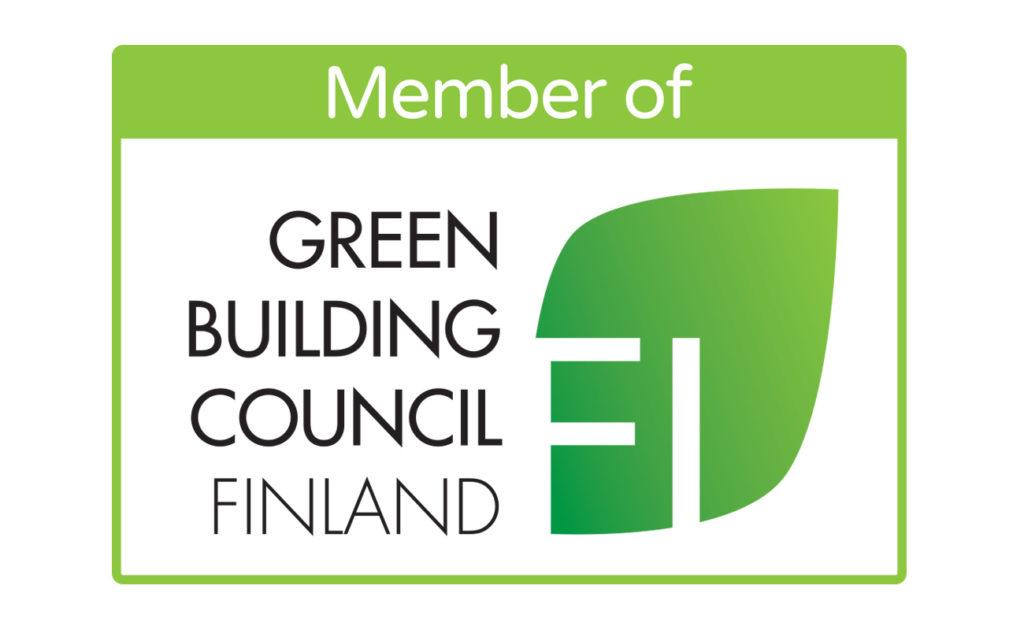 Setlementtiasunnot Green Building Council Finlandin jäseneksi